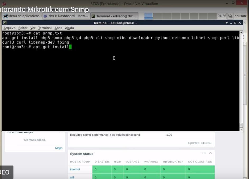 Step-by-Step Installation of Zabbix with Mikrotik