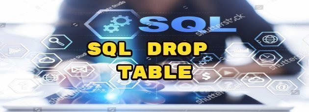 SQL DROP TABLE