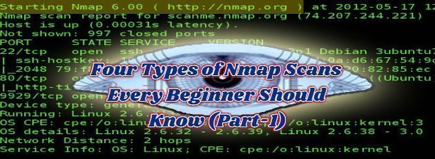 Four Types of Nmap Scans Every Beginner Should Know (Part-1)