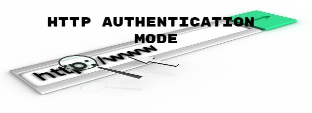 HTTP Authentication Mode