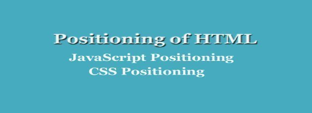 Positioning-of-HTML-Content