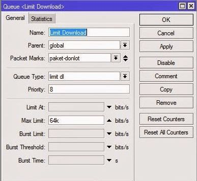 Explanation Queue Tree & PCQ in Mikrotik – Technology Software Center