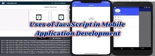 Uses of JavaScript in Mobile Application Development