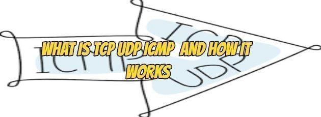 WHAT IS TCP UDP ICMP AND HOW IT WORKS