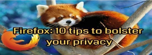 Firefox: 10 Tips to Bolster Your Privacy