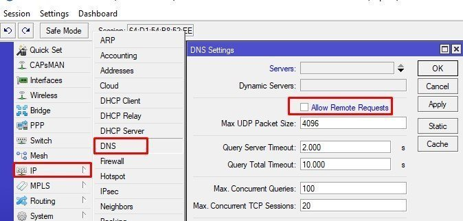 Easy Way to Block Adult Sites use DNS in Mikrotik – Technology