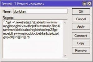 Download Limit in Layer 7 Mikrotik