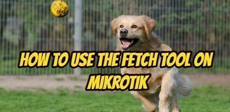 How to Use the Fetch Tool on Mikrotik – Technology Software Center