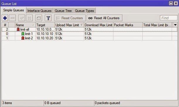 Mikrotik Shared Bandwidth Management Tutorial