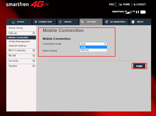 How to Use Andromax LTE 4G Modem on Mikrotik