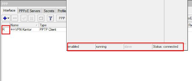 Cek Status VPN