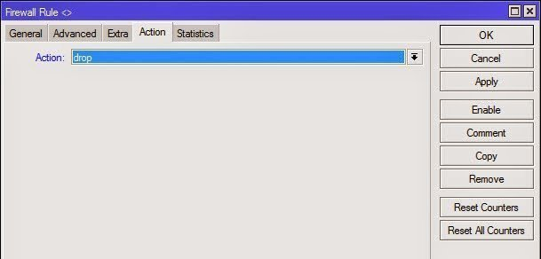 Firewall Filter Action