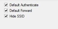 Hide SSID