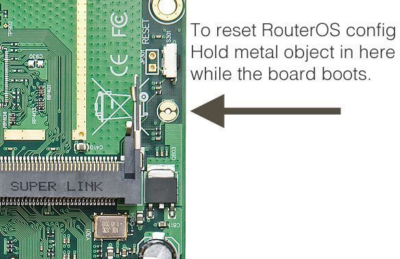 How to Reset Mikrotik Router