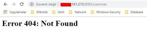 Install Usermnager Mikrotik_