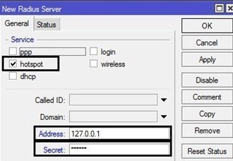 Mikrotik Hotspot Usermanager Settings