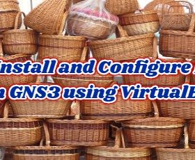 How to Install and Configure Mikrotik on GNS3 using