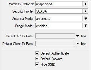 Mikrotik Wireless Security Profile tool