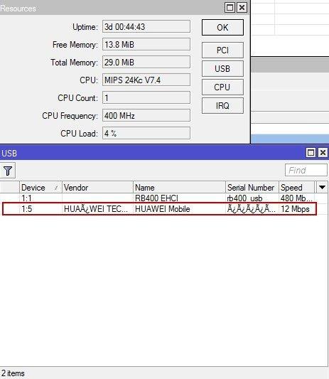 How to Use USB Smartfren Modem in Mikrotik RB751U-2HnD