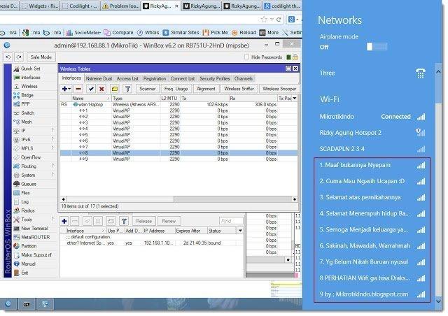 Virtual Access Point Mikrotik