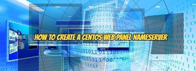 How to Create a Centos Web Panel NameServer