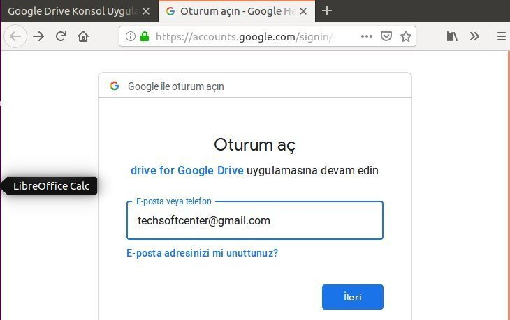 How to install Google Drive Linux