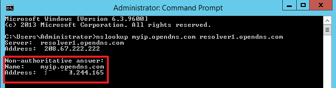 Administrator Command Prompt