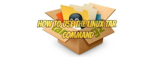 How to Use the Linux Tar Command