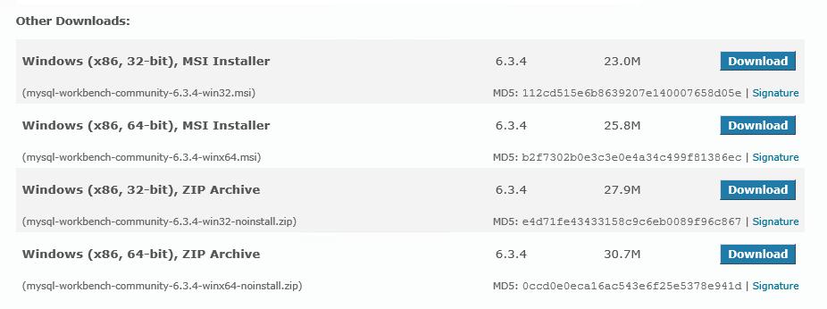 MySQL Downloads