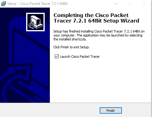 Cisco packet tracer install