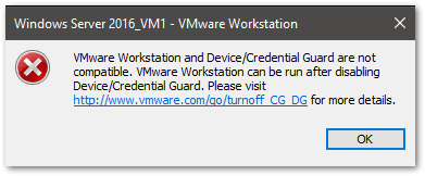 VMware on windows Server