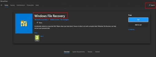 Windows_File_Recovery