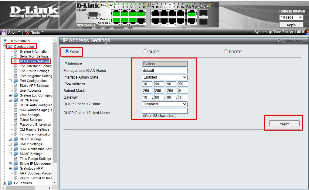 D_Link_Ip_Address_Configuration